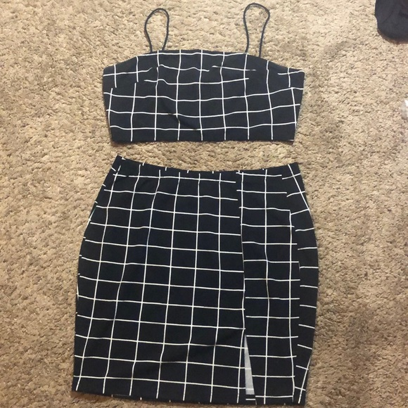 SHEIN two piece set, worn once to try on